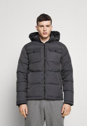 JJRONALD PUFFER - Winter jacket - dark grey melange