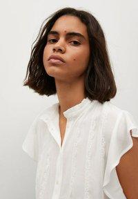 Mango - Button-down blouse - off white - 3
