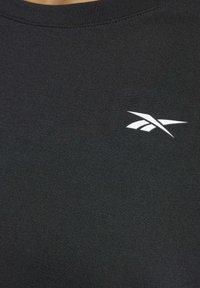 Reebok - WORKOUT READY SUPREMIUM DETAIL - Print T-shirt - black - 5