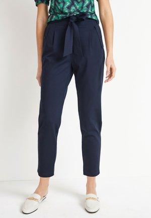 PONTE PEG  - Spodnie materiałowe - dark blue