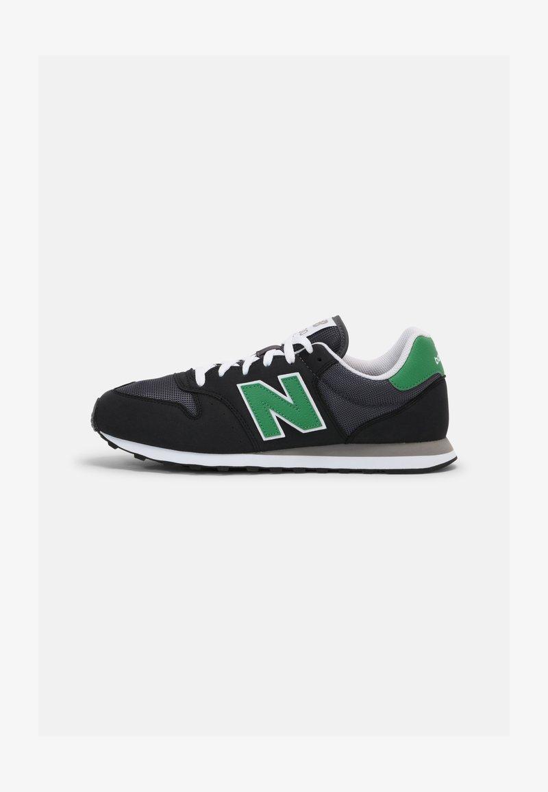 New Balance - 500 - Trainers - black/green