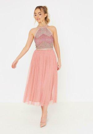 LARA - Společenské šaty - dusty pink