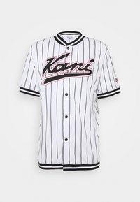 Karl Kani - VARSITY PINSTRIPE BASEBALL - Shirt - white - 4