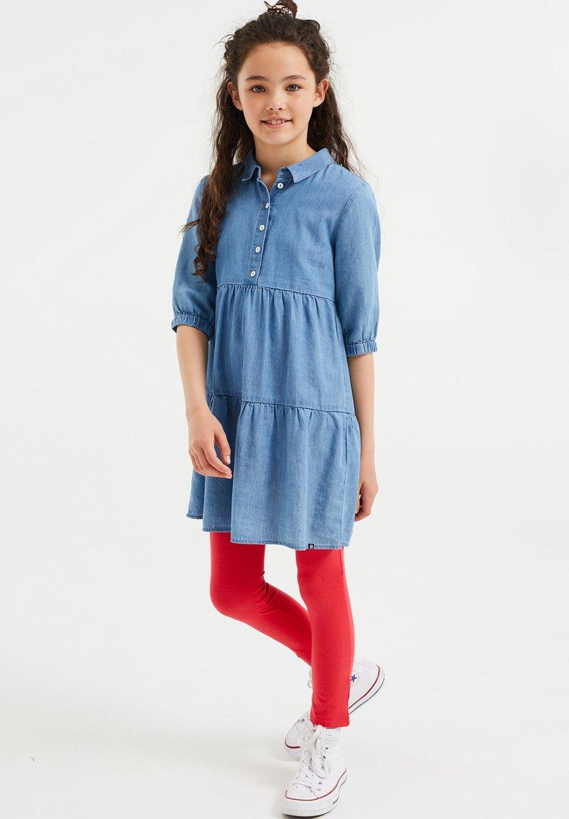 WE Fashion - MEISJES SKINNY FIT - Legging - salmon pink
