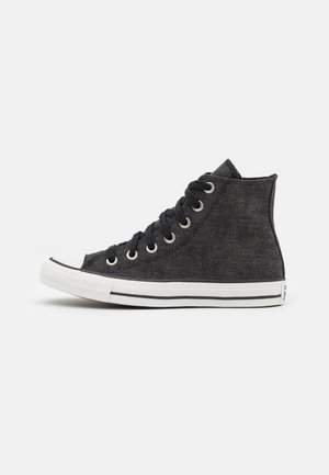 CHUCK TAYLOR ALL STAR UNISEX - High-top trainers - black/egret