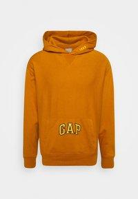 GAP - DRY - Bluza z kapturem - autumn orange - 3