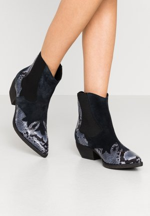 SOFY - Cowboy/biker ankle boot - blu