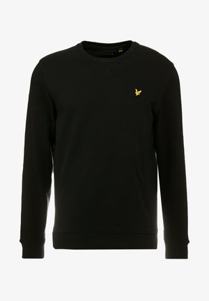 CREW NECK - Sweatshirts - jet black