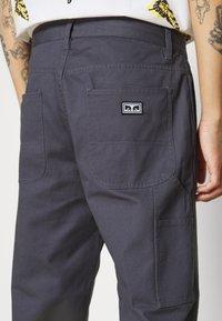Obey Clothing - HARDWORK CARPENTER PANT  - Kangashousut - french navy - 4