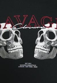 CLOSURE London - SAVAGE DEATH HOODY - Sweatshirt - black - 3