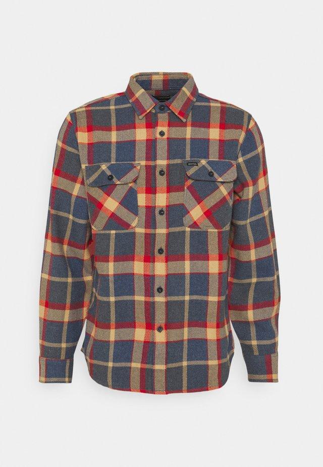 BOWERY - Košile - blue/red