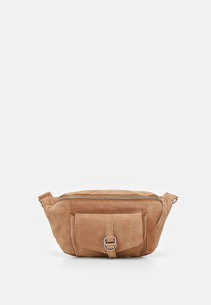 LEATHER - Bum bag - tan