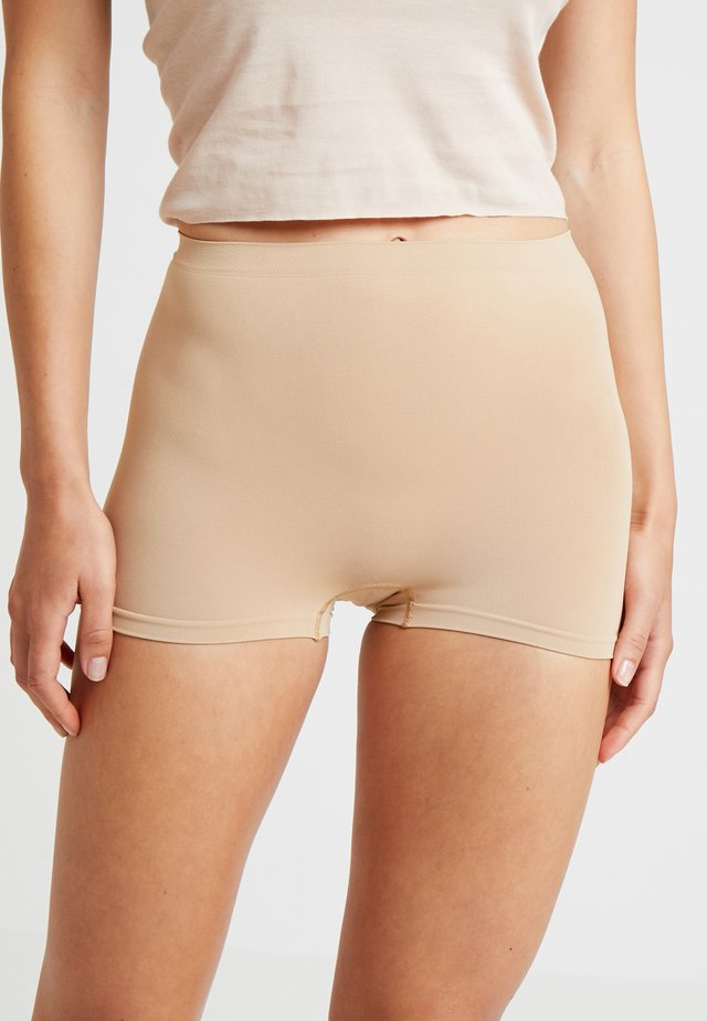 TOUCH FEELING PANTY - Pants - beige
