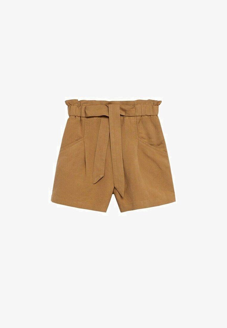 Mango - Shorts - zand