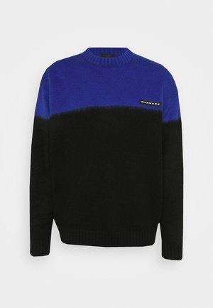 MIRROR COLOUR BLOCK  - Pullover - blue