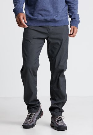 WAY TO GO PANTS - Trousers - rock black