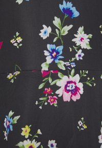 Even&Odd - FLARED ALL OVER MESH MINI DRESS - Day dress - black /blue/rose - 5