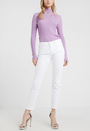 BAKER - Jeansy Slim Fit - white