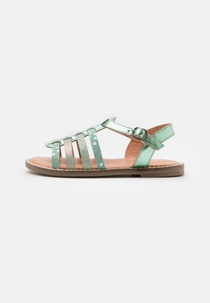 LEATHER - Sandalen - mint