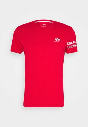 UNLIMITED - Print T-shirt - speed red