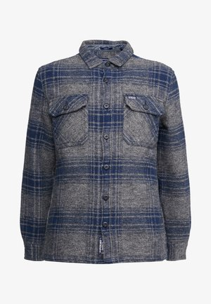 MILLER - Skjorta - grey check