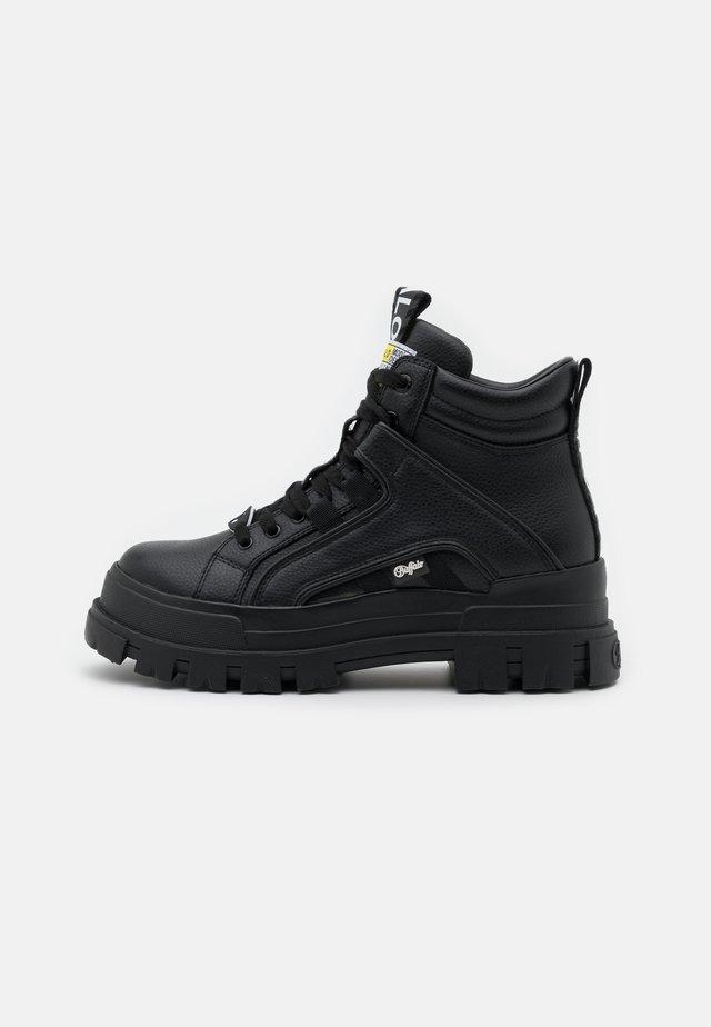VEGAN ASPHA MID - Sneakers hoog - black