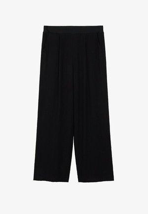 FLUIDO PLISADO - Kalhoty - black