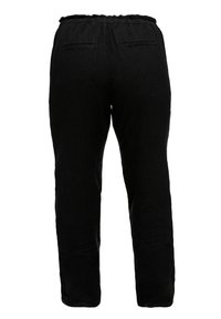 Triangle - RELAXED FIT - Trousers - black - 3
