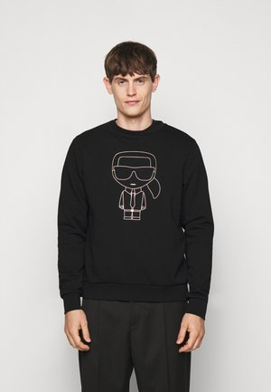 CREWNECK - Sweatshirt - black/gold