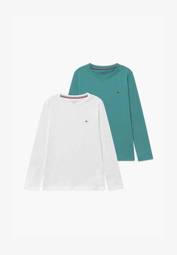 TEE 2 PACK - Maglietta a manica lunga - white