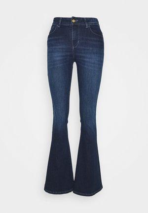 RAVAL - Flared Jeans - dark stone