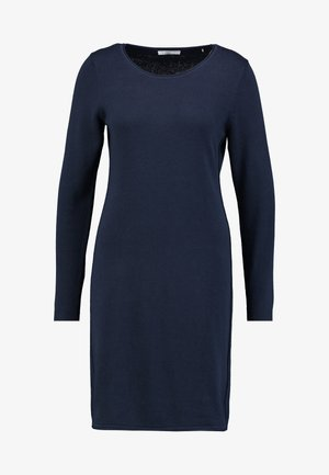 DRESS - Strickkleid - navy