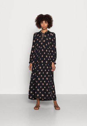FLORAL MOSS - Day dress - black