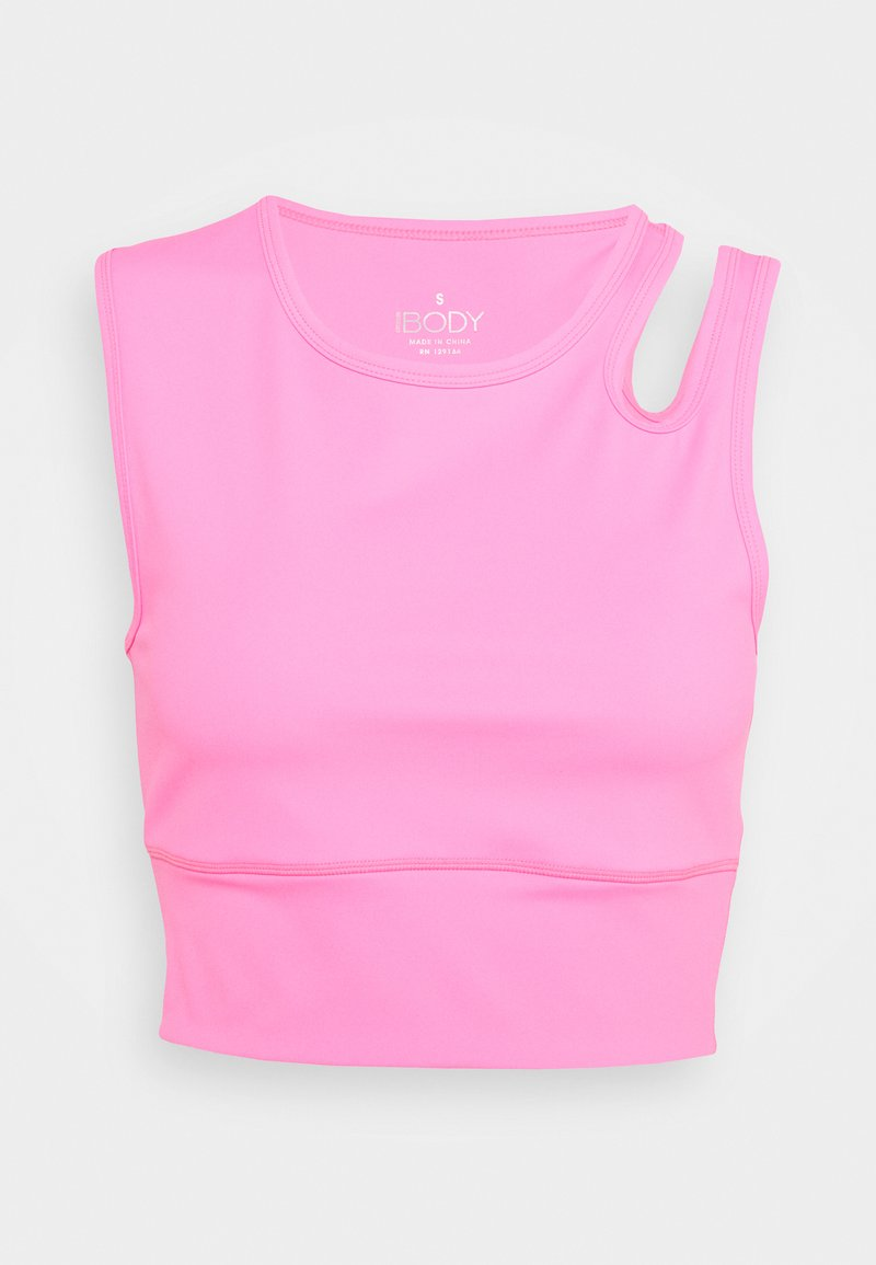 Cotton On Body - ULTIMATE CUT OUT VESTLETTE - Topper - rouge pink