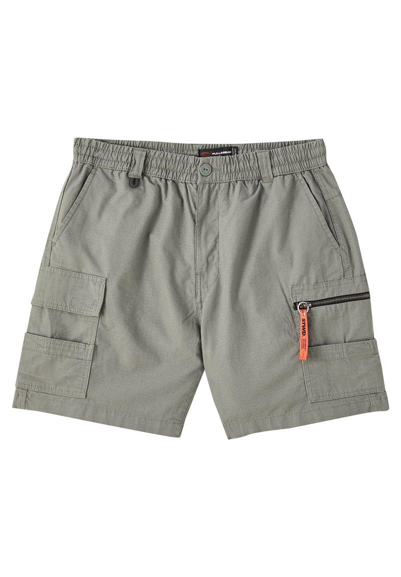 PULL&BEAR - Shorts - dark green