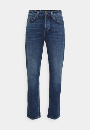 5 POCKET - Jeans Tapered Fit - multi/greenish dark blue