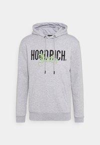 Hoodrich - OLD ENGLISH HOODIE - Hoodie - heather grey/volt - 0