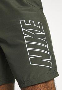 Nike Performance - DRY ACADEMY SHORT - Korte broeken - cargo khaki/cargo khaki/white - 5