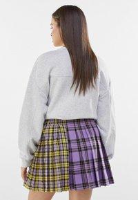 Bershka - Plisovaná sukně - mauve - 2
