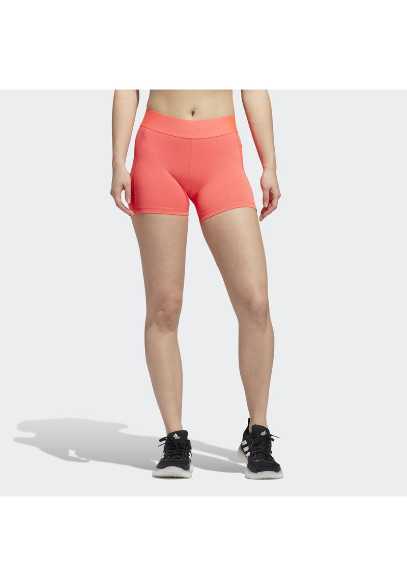 adidas Performance - ALPHASKIN SHORT TIGHTS - kurze Sporthose - pink