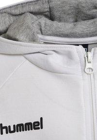 Hummel - HMLGO - Zip-up hoodie - white - 3