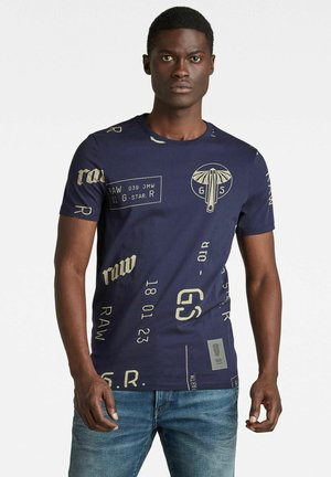 GRAPHICS ALLOVER SLIM - Print T-shirt - warm sartho extreme