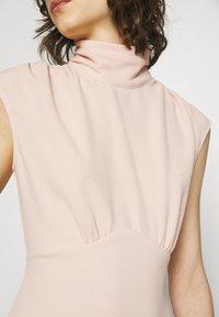 Closet - HIGH NECK MIDI A-LINEDRESS - Day dress - blush - 6