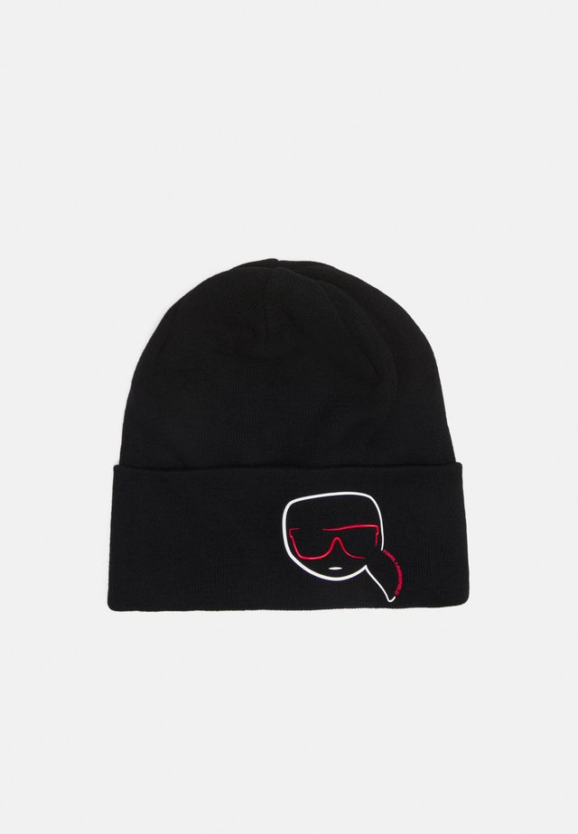 IKONIK OUTLINE BEANIE - Bonnet - black