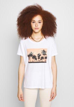 BSCOMO - Print T-shirt - bright white