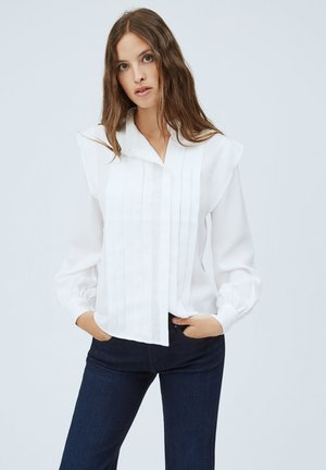 HIRUNE - Button-down blouse - buttermilk