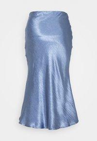 Glamorous - BIAS CUT SKIRT WITH BUTTONS - Pencil skirt - blue - 1