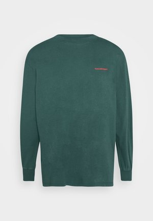 BOXY TEE LONG SLEEVE - Langærmede T-shirts - faded green