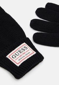 Guess - GLOVES - Gloves - black - 1