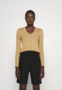 Polo Ralph Lauren - CLASSIC - Sweter - luxury tan - 0